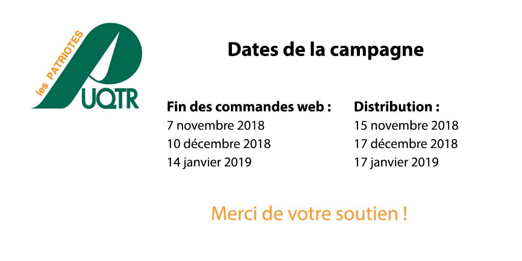 Dates UQTR